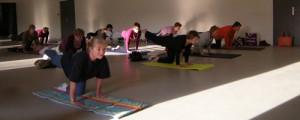 postures yoga Saint-Saire