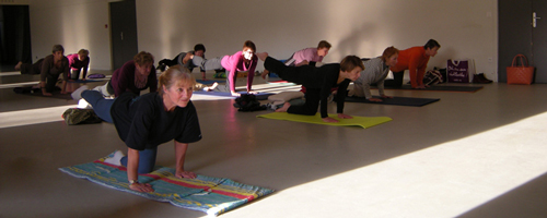 postures yoga à Saint-Saire